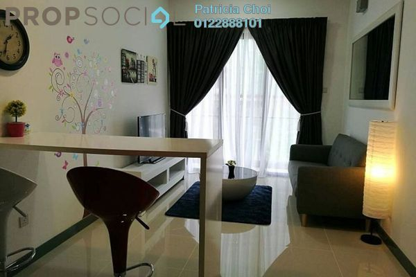 For Sale Serviced Residence at South View, Bangsar South Freehold Fully Furnished 1R/1B 750k