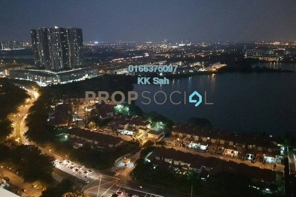For Sale Condominium at Elevia Residences, Bandar Puchong Utama Freehold Semi Furnished 3R/2B 618k