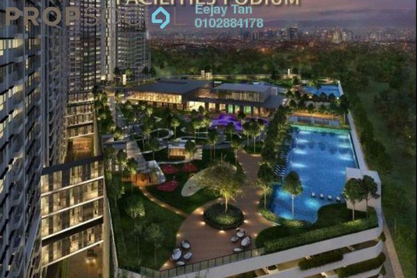 For Sale Condominium at M Vertica, Cheras Freehold Unfurnished 3R/2B 540k