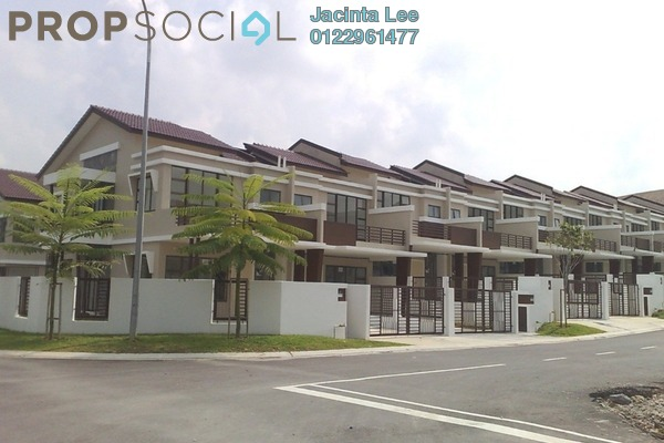 For Sale Terrace at Luciana, Setia Eco Gardens Freehold Semi Furnished 4R/3B 437k
