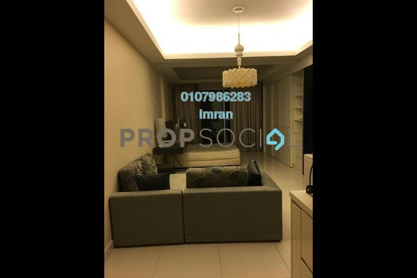 For Rent Serviced Residence at Carlton, Sri Hartamas Freehold Fully Furnished 0R/1B 1.85k