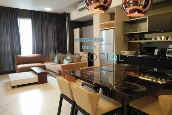 For Rent Serviced Residence at VERVE Suites, Mont Kiara Freehold Fully Furnished 2R/2B 5k