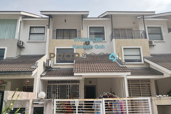For Sale Terrace at Lake Fields, Sungai Besi Freehold Semi Furnished 5R/4B 990k