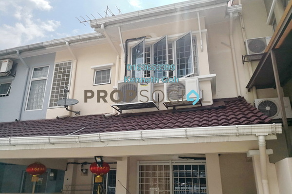 For Sale Terrace at BK5, Bandar Kinrara Freehold Semi Furnished 4R/3B 720k