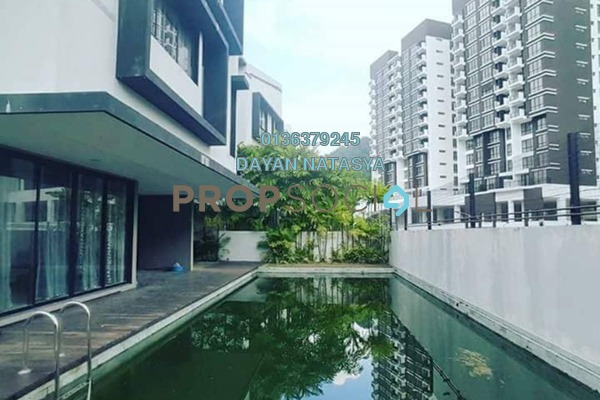 For Rent Bungalow at 20trees, Melawati Freehold Semi Furnished 5R/6B 15k