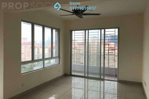 For Rent Condominium at Platinum Lake PV21, Setapak Freehold Semi Furnished 3R/2B 1.8k