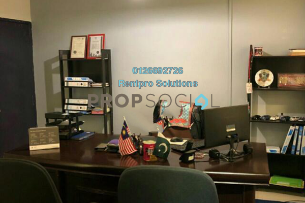 For Rent Office at Taman Connaught, Cheras Freehold Fully Furnished 0R/0B 1.5k