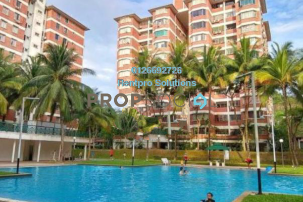 For Rent Condominium at Green Acre Park, Bandar Sungai Long Freehold Semi Furnished 3R/2B 1k
