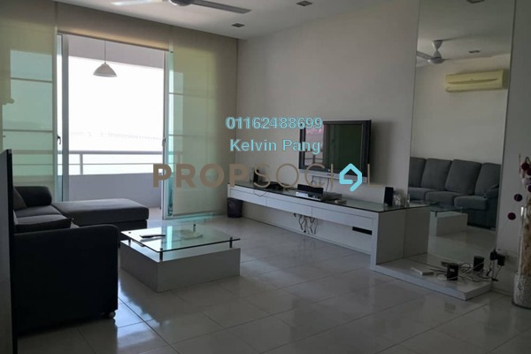 For Sale Condominium at BaysWater, Gelugor Freehold Fully Furnished 3R/2B 970k
