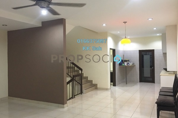 For Sale Terrace at Taman Kajang Baru, Kajang Freehold Semi Furnished 5R/4B 758k