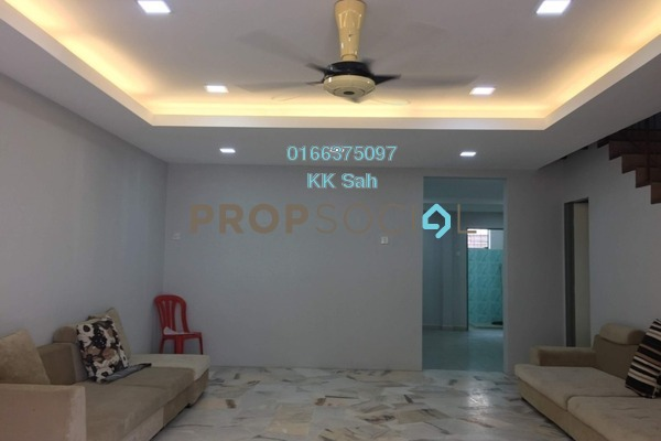 For Sale Terrace at Section 4, Bandar Mahkota Cheras Freehold Semi Furnished 4R/3B 599k
