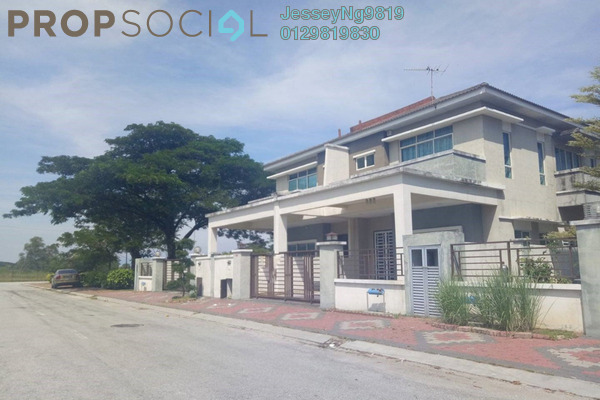 For Sale Semi-Detached at Tiara Lake Park, Ipoh Freehold Semi Furnished 4R/3B 438k