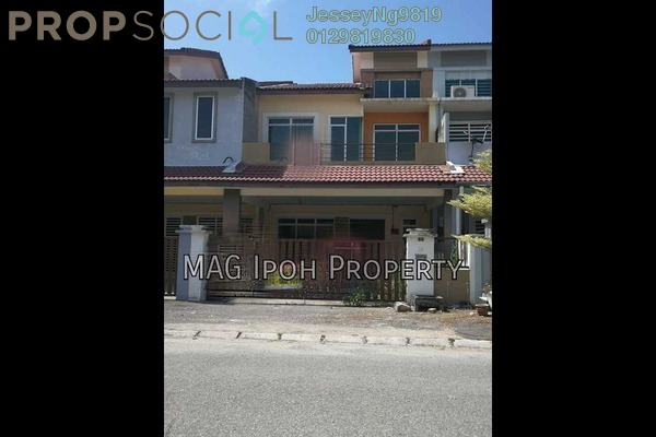 For Sale Terrace at Bandar Cyber, Ipoh Freehold Unfurnished 4R/4B 389k