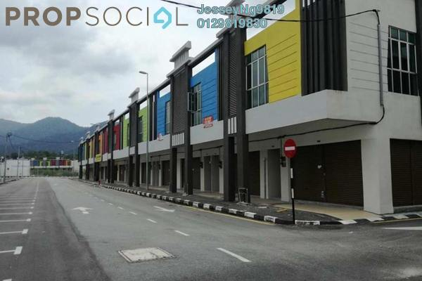 For Rent Shop at Jelapang Baru, Ipoh Freehold Unfurnished 0R/2B 2.5k