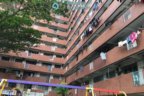 For Sale Apartment at Taman Miharja, Cheras Freehold Semi Furnished 2R/1B 230k