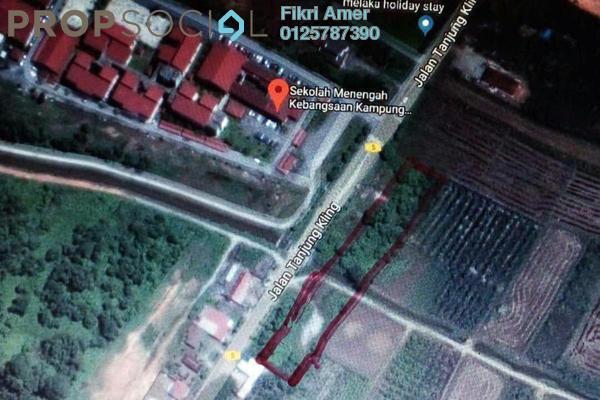 For Sale Land at Tanjong Kling, Melaka Freehold Unfurnished 0R/0B 455k