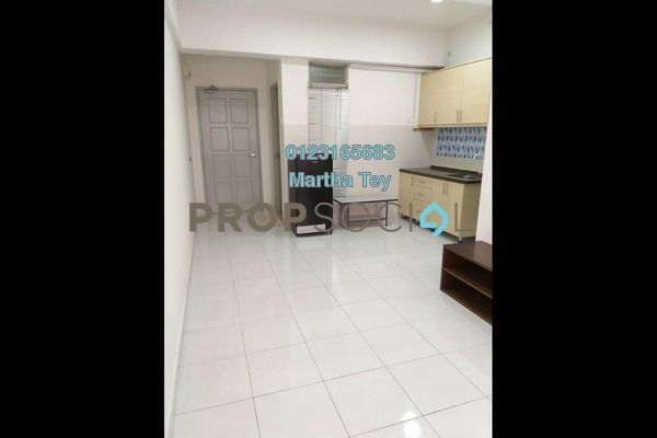 For Rent Apartment at Main Place Residence, UEP Subang Jaya Freehold Semi Furnished 1R/1B 1.2k