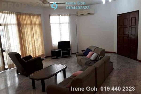 For Rent Condominium at Cantonment Court, Gurney Drive Freehold Fully Furnished 4R/3B 2.5k