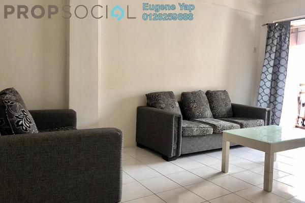 For Rent Apartment at Vista Saujana, Kepong Freehold Semi Furnished 3R/2B 1.1k