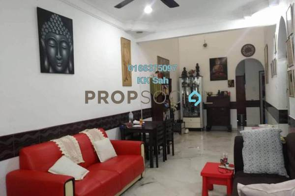For Sale Terrace at Taman Rakan, Bandar Sungai Long Freehold Semi Furnished 3R/2B 388k