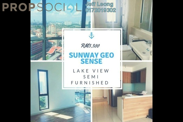 For Rent Condominium at Sunway Putra, Kuala Lumpur Freehold Semi Furnished 3R/3B 3.3k
