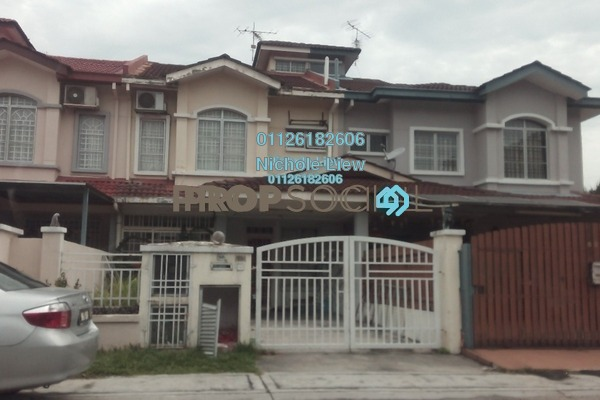 For Sale Terrace at Bandar Botanic, Klang Freehold Semi Furnished 4R/3B 609k
