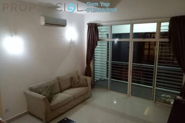 For Rent Townhouse at Bayan Villa, Seri Kembangan Freehold Fully Furnished 4R/3B 1.4k