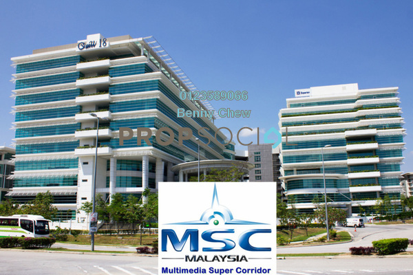 For Rent Office at Quill 18, Cyberjaya Freehold Semi Furnished 0R/0B 50k