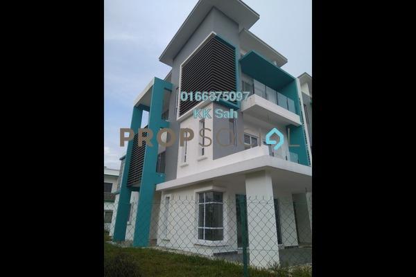 For Sale Superlink at The Clover Homes @ Laman Semanggi, Semenyih Leasehold Unfurnished 5R/4B 665k