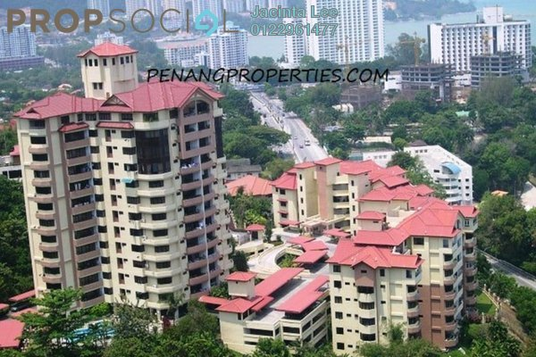 For Sale Condominium at Pearl View, Tanjung Bungah Freehold Semi Furnished 5R/3B 903k