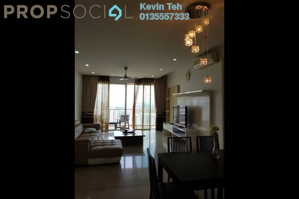 For Rent Condominium at Kiaramas Ayuria, Mont Kiara Freehold Fully Furnished 3R/3B 5k