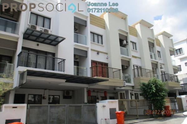 For Sale Townhouse at Westwood Terrace, Bandar Utama Freehold Semi Furnished 3R/3B 640k