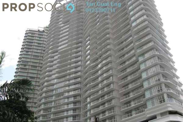 For Rent Condominium at Idaman Residence, KLCC Freehold Semi Furnished 3R/3B 6.2k