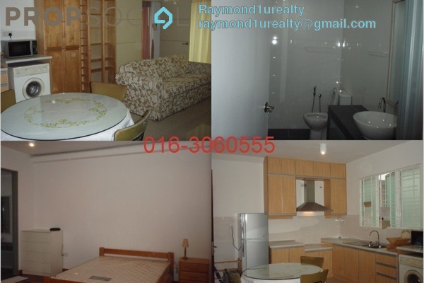 For Rent Serviced Residence at Ritze Perdana 2, Damansara Perdana Freehold Fully Furnished 1R/1B 1.9k