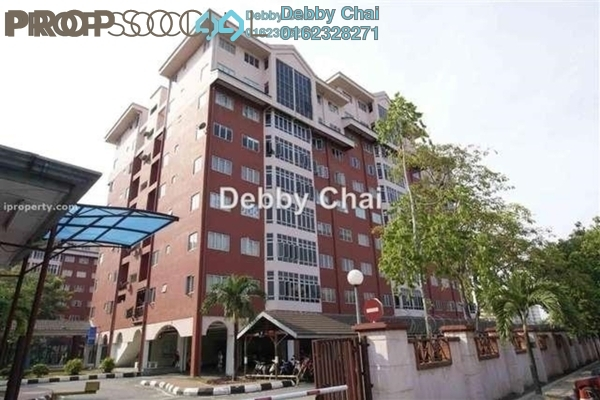 For Sale Condominium at Permai Villa, Puchong Leasehold Unfurnished 3R/2B 380k