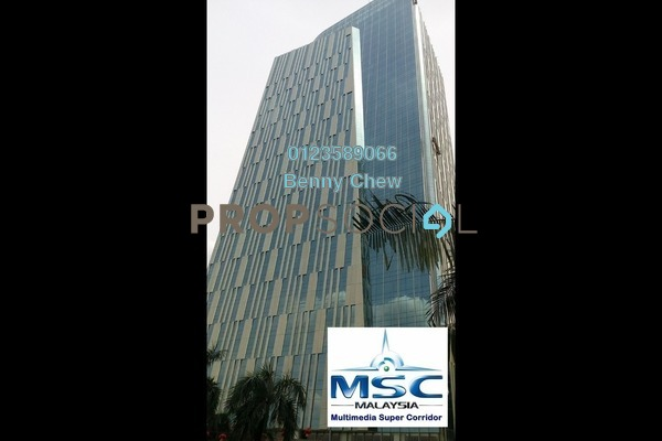 For Rent Office at IOI City Tower, IOI Resort City Freehold Semi Furnished 0R/0B 16k