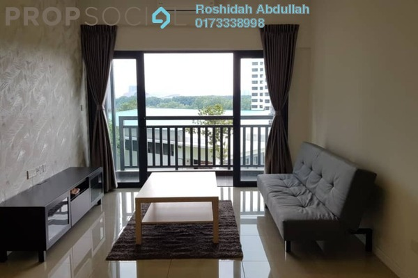 For Rent Serviced Residence at Suria Residence, Bukit Jelutong Freehold Fully Furnished 3R/2B 2.65k