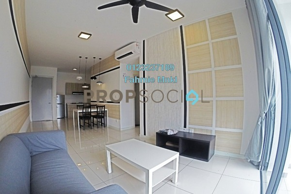 For Rent Condominium at Casa Green, Bukit Jalil Freehold Fully Furnished 3R/3B 2.1k