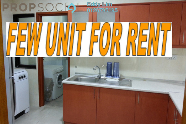 For Rent Condominium at Sri Putramas I, Dutamas Freehold Semi Furnished 3R/2B 1.4k