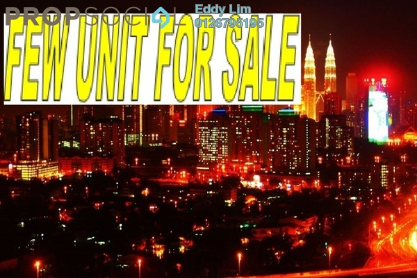 For Sale Condominium at Royal Regent, Dutamas Freehold Semi Furnished 2R/2B 480k