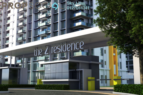 For Sale Condominium at The Z Residence, Bukit Jalil Freehold Semi Furnished 2R/2B 580k