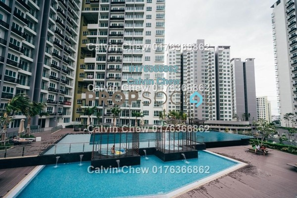 For Sale Condominium at Tropicana Bay Residences, Bayan Indah Freehold Unfurnished 3R/3B 689k