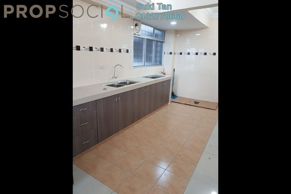 For Sale Apartment at Aman Satu, Kepong Freehold Semi Furnished 3R/2B 255k