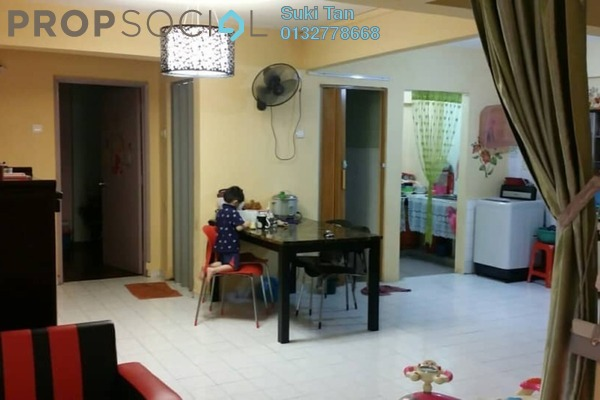 For Sale Apartment at Aman Satu, Kepong Freehold Semi Furnished 3R/2B 245k