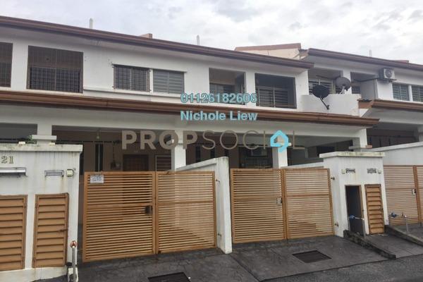 For Sale Terrace at Bandar Damai Perdana, Cheras South Freehold Semi Furnished 3R/2B 375k