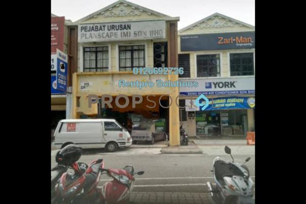 For Rent Office at Taman Desa Cheras, Alam Damai Freehold Semi Furnished 2R/1B 850translationmissing:en.pricing.unit