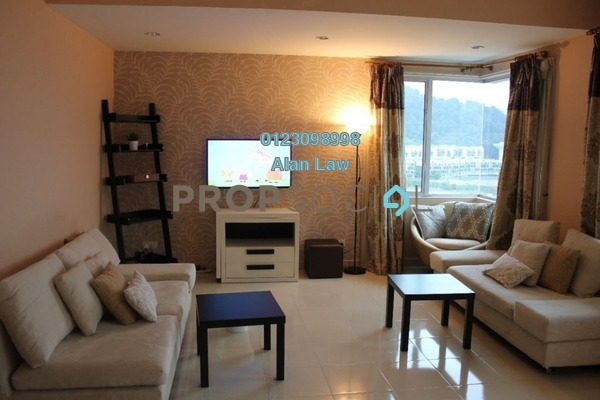 For Rent Condominium at Platinum Hill PV8, Setapak Freehold Fully Furnished 3R/2B 2.7k