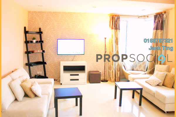 For Rent Condominium at Platinum Hill PV8, Setapak Freehold Fully Furnished 3R/2B 2.6k