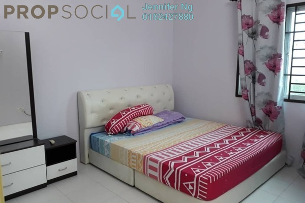 For Rent Townhouse at Lakeside Residences, Puchong Freehold Fully Furnished 4R/2B 1.4k