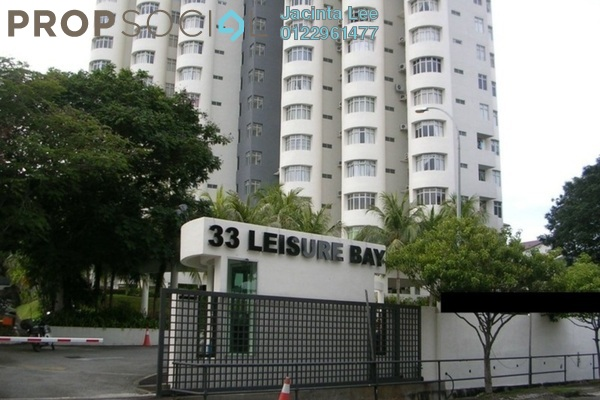 For Sale Condominium at Leisure Bay, Tanjung Tokong Freehold Semi Furnished 3R/2B 584k